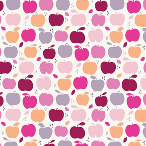 An apple a day large scale in pink