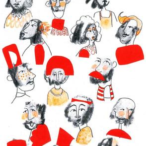 Fun Faces In Fun Hats