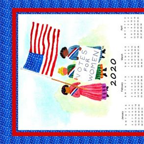 Suffragettes Tea Towel Calendar