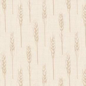 wheat - sand linen