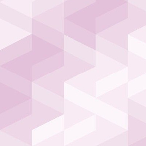 Tiles background in different shades of purple made with triangles mosaic