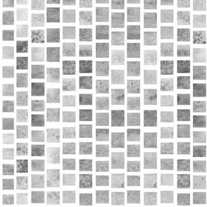 Watercolor Squares - Desaturated