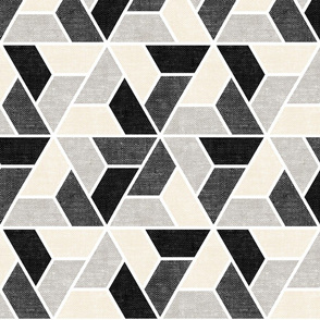 triangle geo - focus collection - woven multi - LAD19
