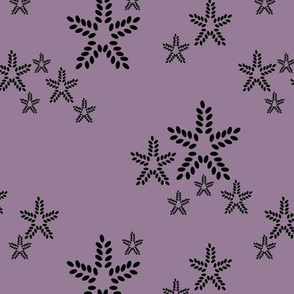 Star Dots in Mauve