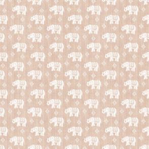 Sharavathi Elephants- Sand - Smaller Scale