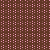 Choco Strawberry Polka dots - Small Scale