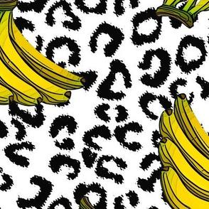 Bananas on leo print