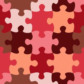 Puzzle (marsala palette)