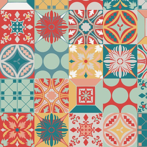 Portuguese Azulejos Ceramic Tiles
