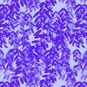 Blooming garden berries - lavender