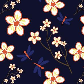 Cherry Blossom Season Dark Alternate