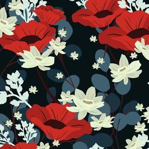 Gardenia Floral - Dark