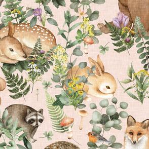 Woodland Creatures   Blush