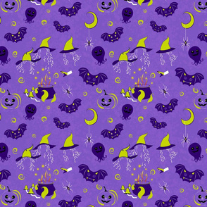 Halloween fabric by Kreativkollektiv