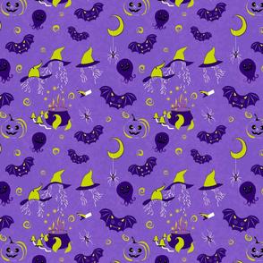 Halloween fabric by Kreativkollektiv