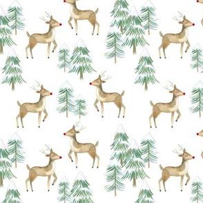 "5.25"" Woodland Reindeer // White"