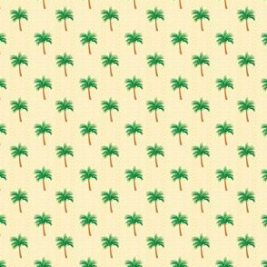 Palm Tree Polka Dot on  Summer Sand