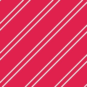Red candy cane stripes