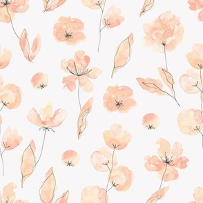 Blush Flowers / Rosy Glow