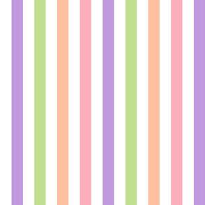 sherbet stripe 8x8