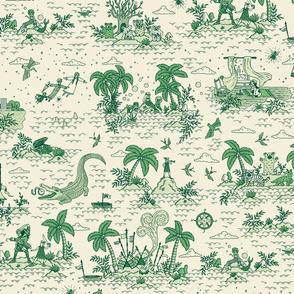 Neverland Toile {Sand}