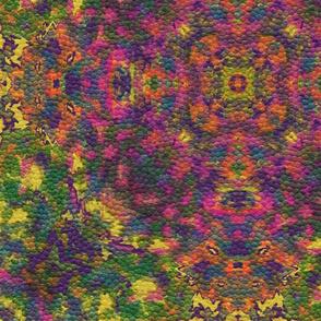 Pistachio + Violet Tapestry