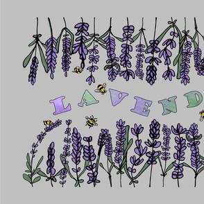 Hand Lettered Lavender