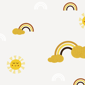 Toffee Sunny Rainbow
