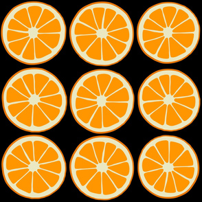 Orange slices, cirtus fruit