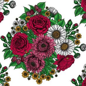 Chintz- Autumn bouquet