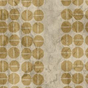 19-13k Wine Abstract Beige Mustard Ochre Yellow Gold
