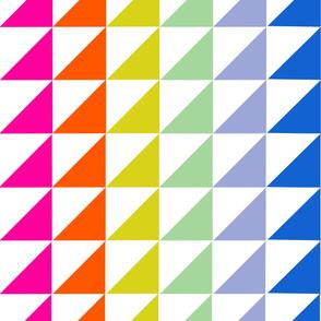 Rainbow HST wholecloth