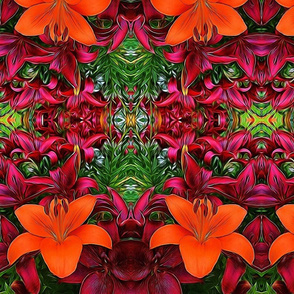 Summer Lillies by Mandy Ramsey