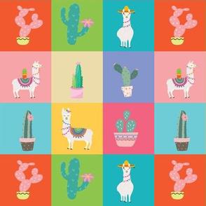 Small Llama Squares