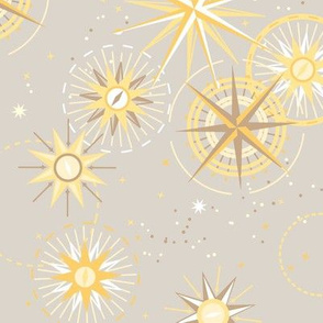 Celestial Compass {Gold Champagne}
