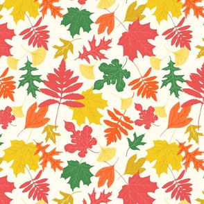 Colorful Leaves - Chalky Brights