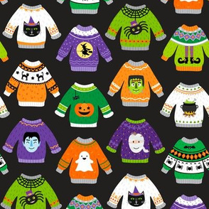 Halloween Sweaters-Straight