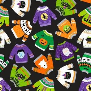 Halloween Sweaters-Toss