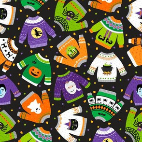 Halloween Sweaters-Toss-Stars