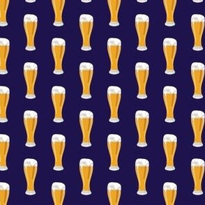 Just A Beer on Blue