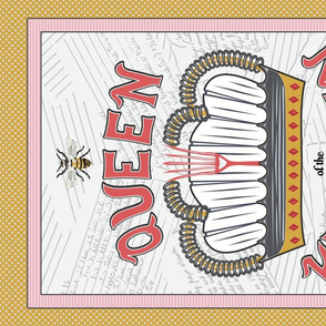 Queen Bee Tea Towel