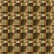 Leather and Knit Woven Stitches