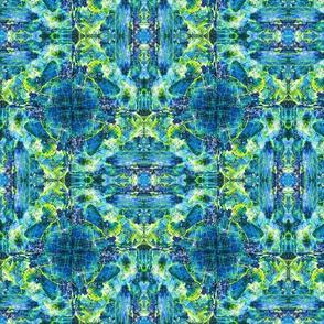 labradorite pattern blue
