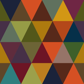 Autumn Abstract color pattern