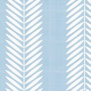 Laurel Leaf Vine Custom Light Blue