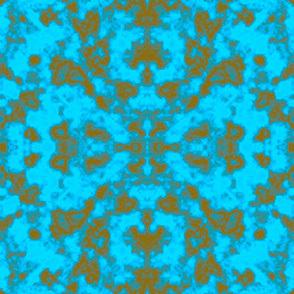 Turquoise Gold Repetitive