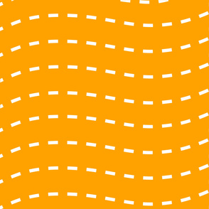 Orange Stripey Time