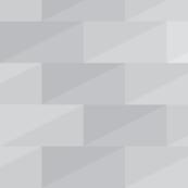 Gray tone cubes with zig zag shape