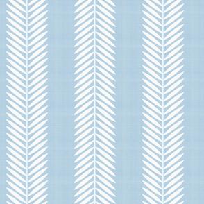 Half Scale Laurel Leaf Stripe in Custom Blue