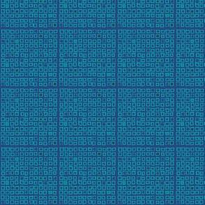 Close The Shades (blue/small)